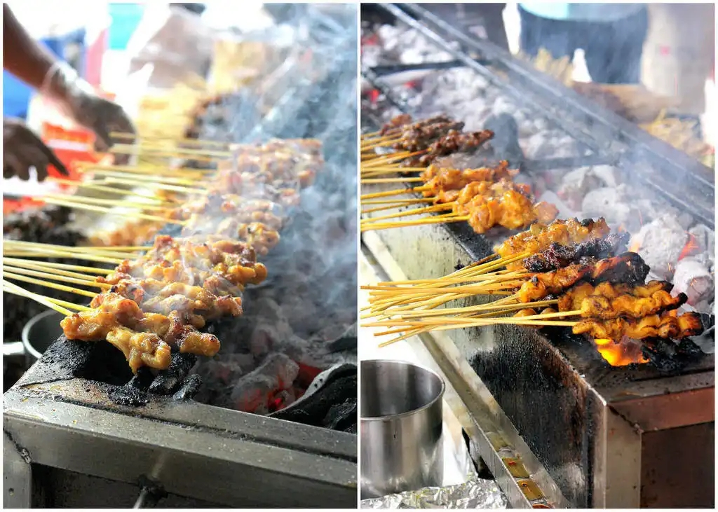 Street Food Singapura