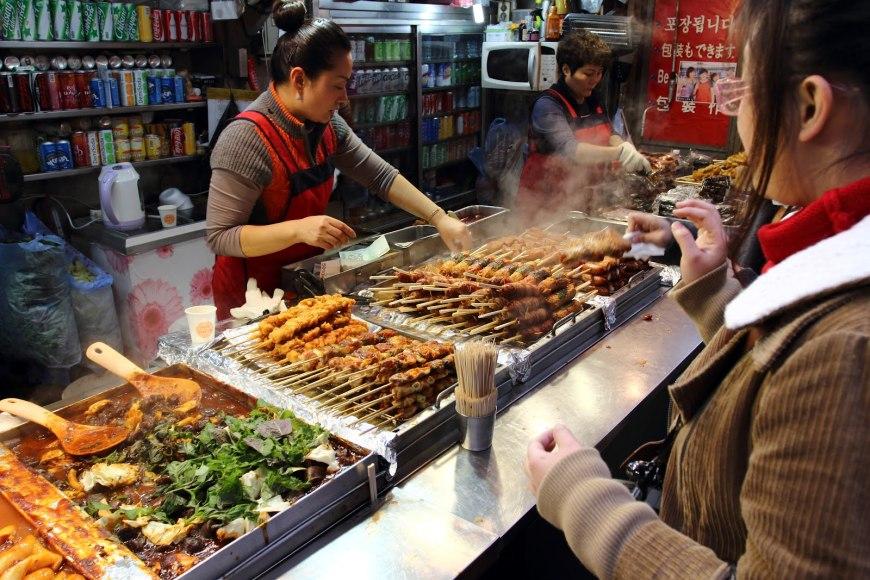 korean street food, tteokbokki